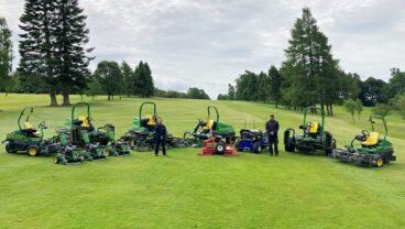 Dunblane New Golf Club 1st John Deere fleet