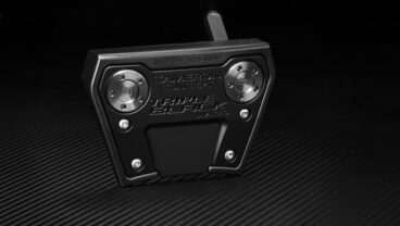 Scotty Cameron Phantom X 95 triple black putter sole