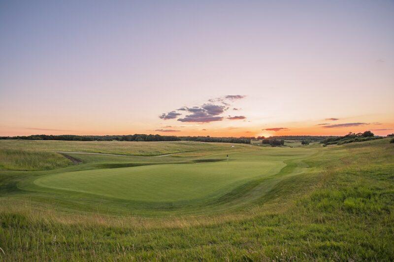 London Golf Club 9th hole