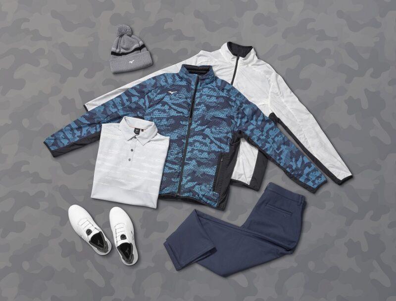 Mizuno Autumn Winter 2021 Collection Blue Camo Group