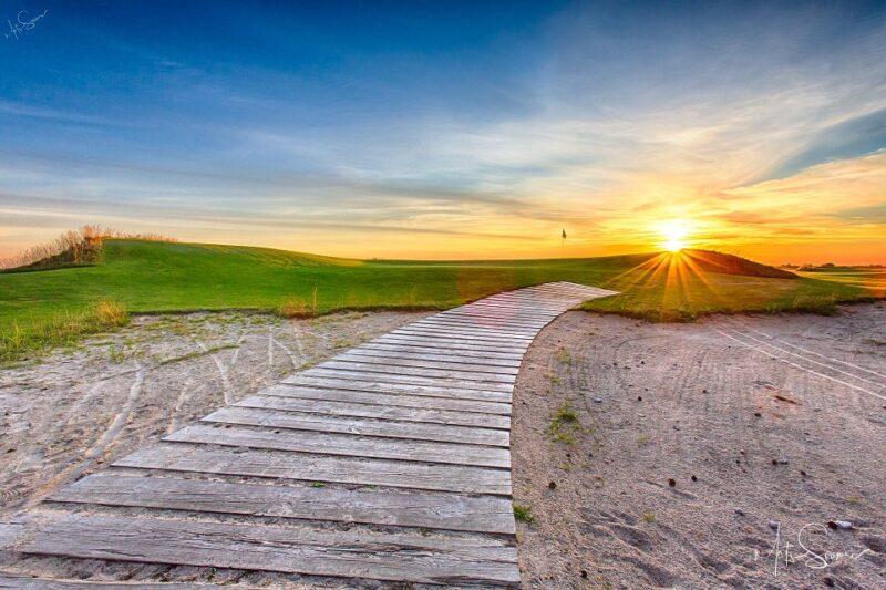 Pärnu Bay Golf Links 18th hole